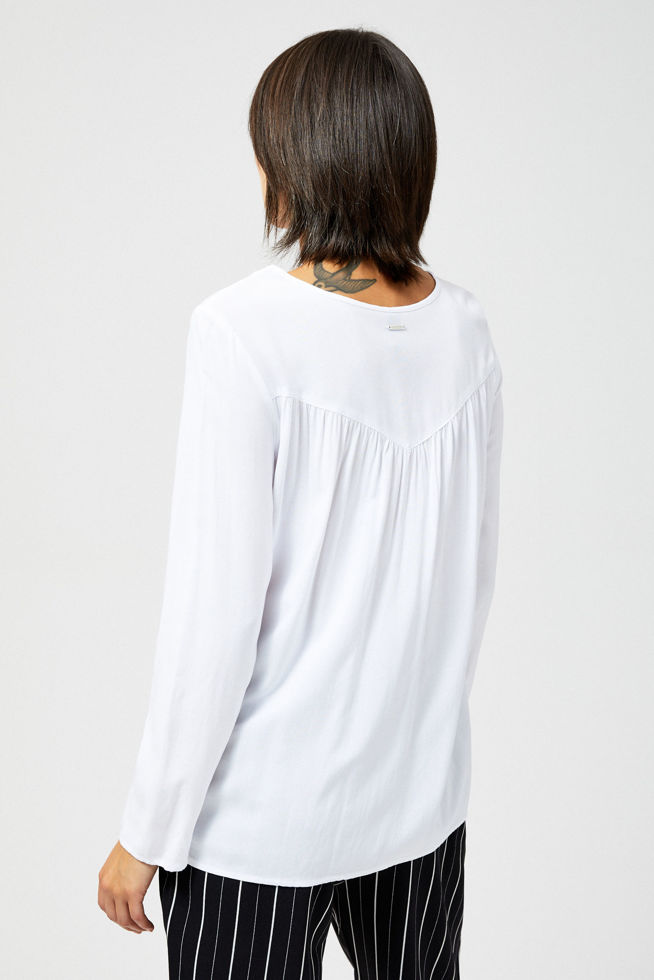 BLOUSE Z-KO-3011 WHITE