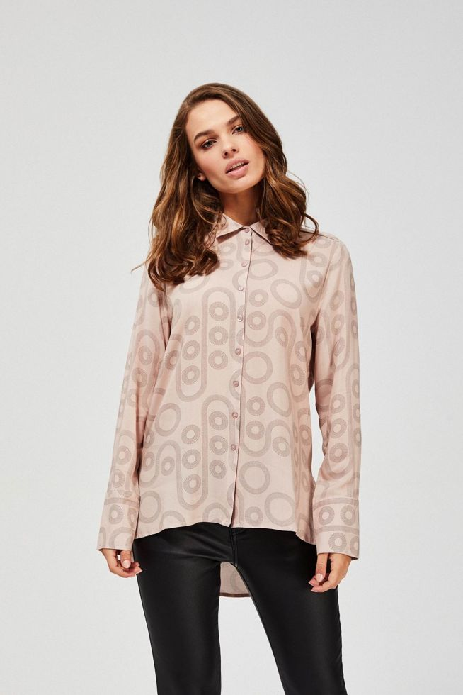 BLOUSE Z-KO-3360 DUSTY ROSE