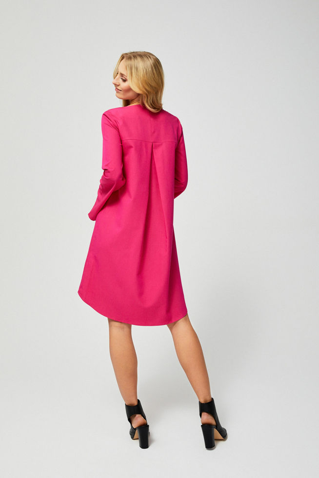 DRESS L-SU-2800 FUCHSIA