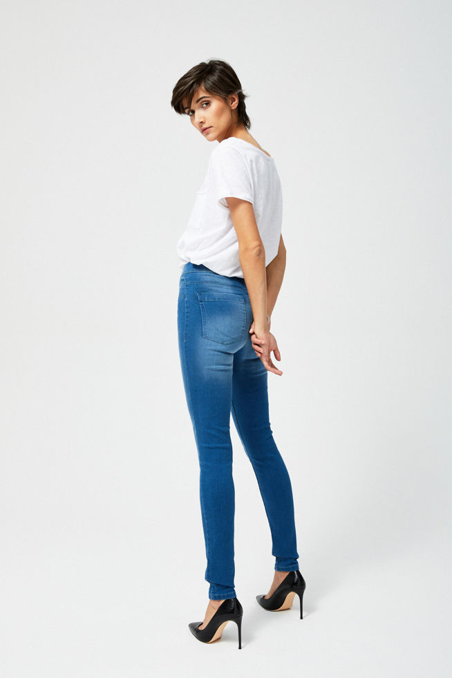 JEANS TROUSERS L-JE-2803 BLUE