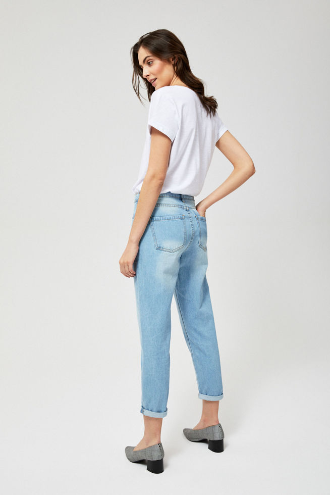 JEANS TROUSERS L-JE-2808 BLUE