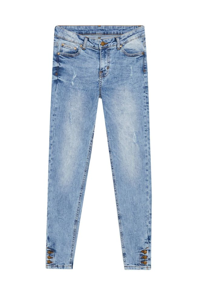JEANS TROUSERS L-JE-3101 L.BLUE-SET