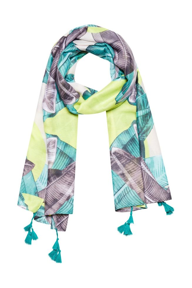 SCARF L-SZ-3114 LIME-SET