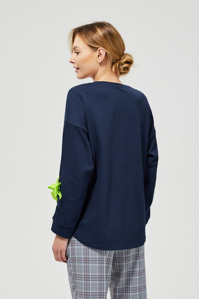 SHIRT L-TS-3105 NAVY