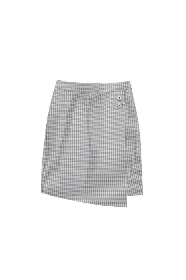 SKIRT Z-SC-3010 BLACK_WHITE