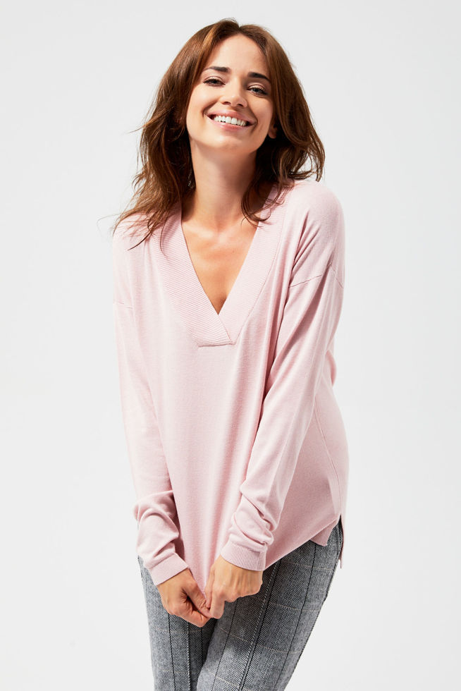 SWEATER L-SW-3101 D.ROSE