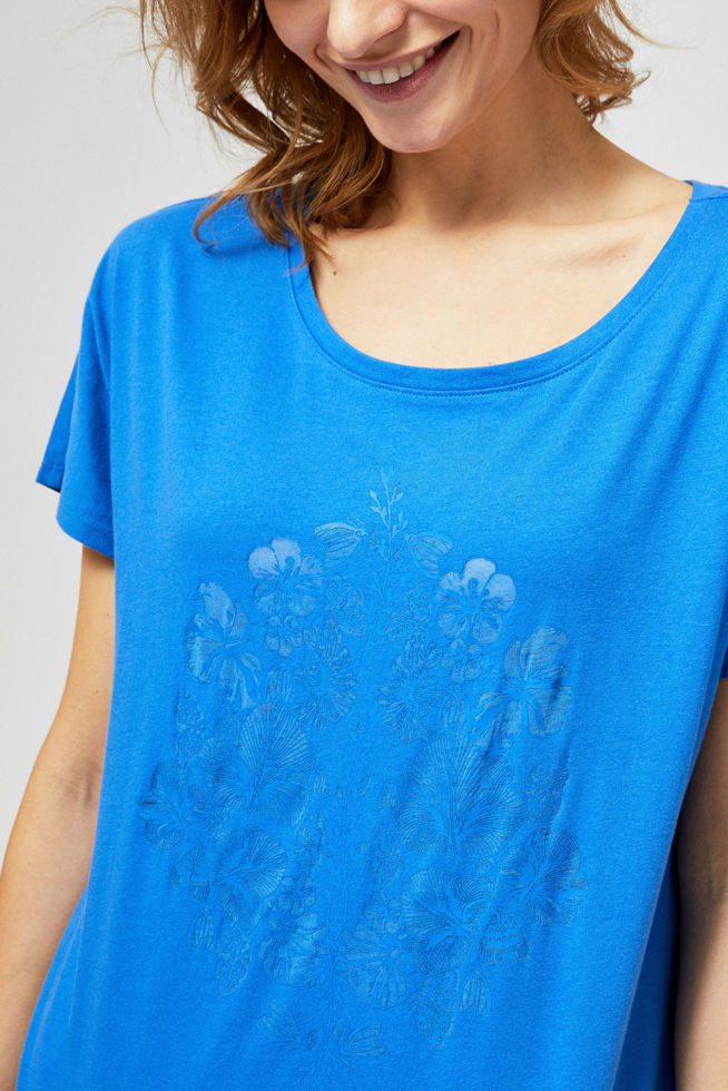 T-SHIRT L-TS-2850 BLUE