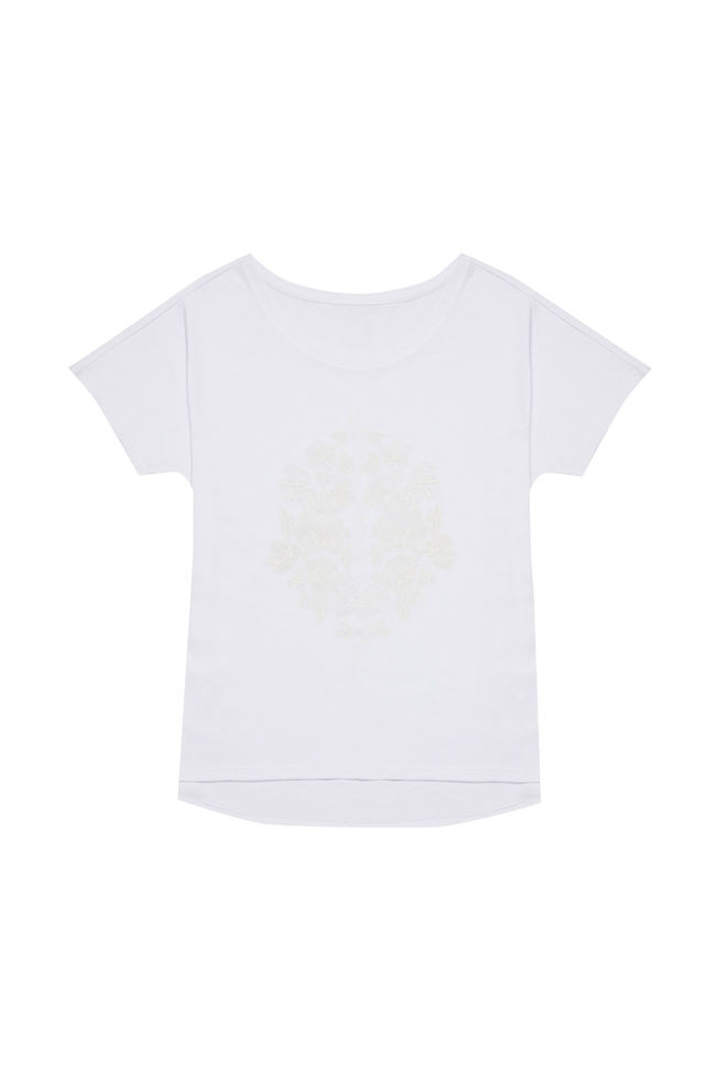 T-SHIRT L-TS-2850 WHITE
