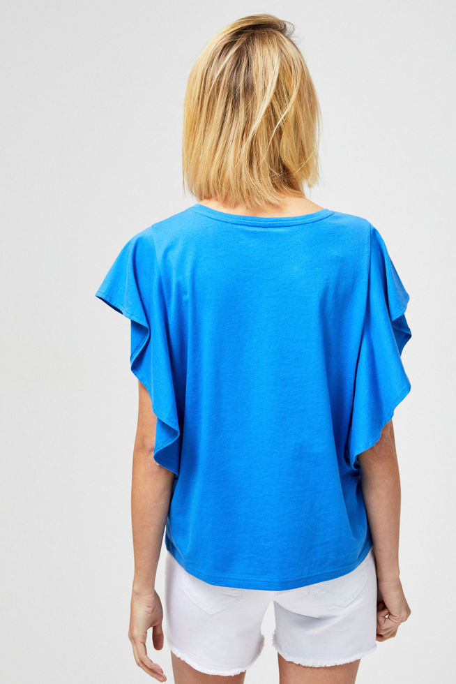 T-SHIRT L-TS-2854 BLUE