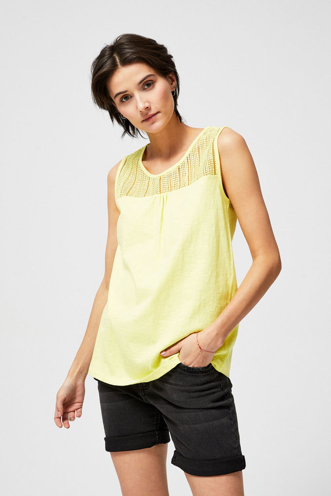T-SHIRT L-TS-2915 YELLOW