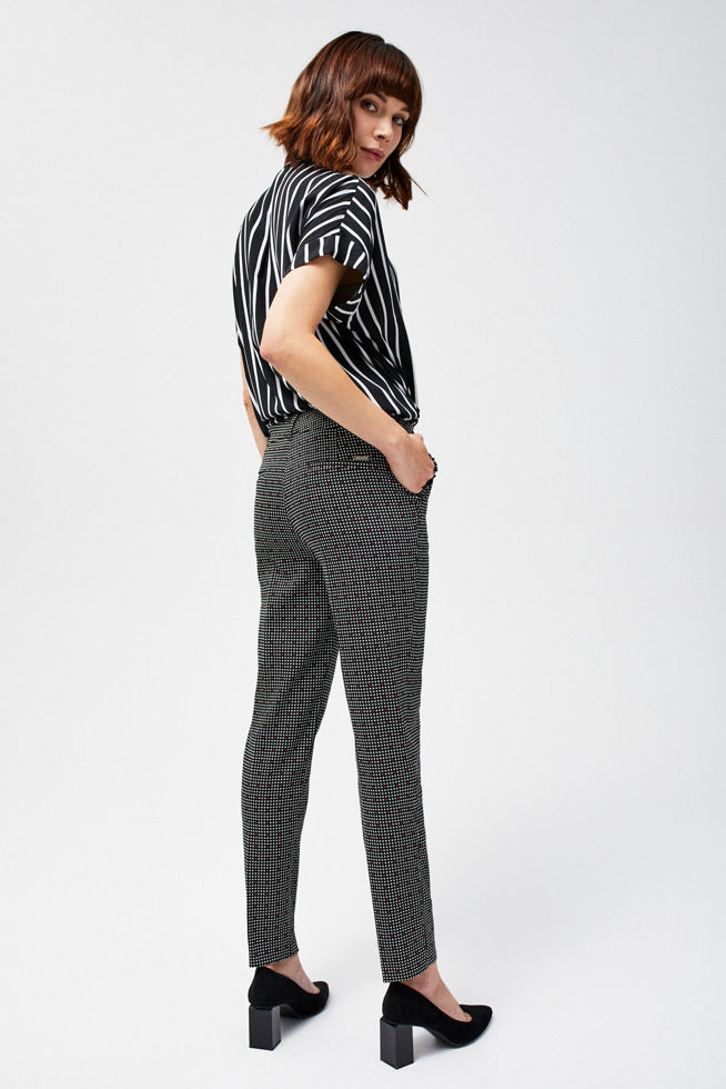 TROUSERS L-SP-2801 BLACK