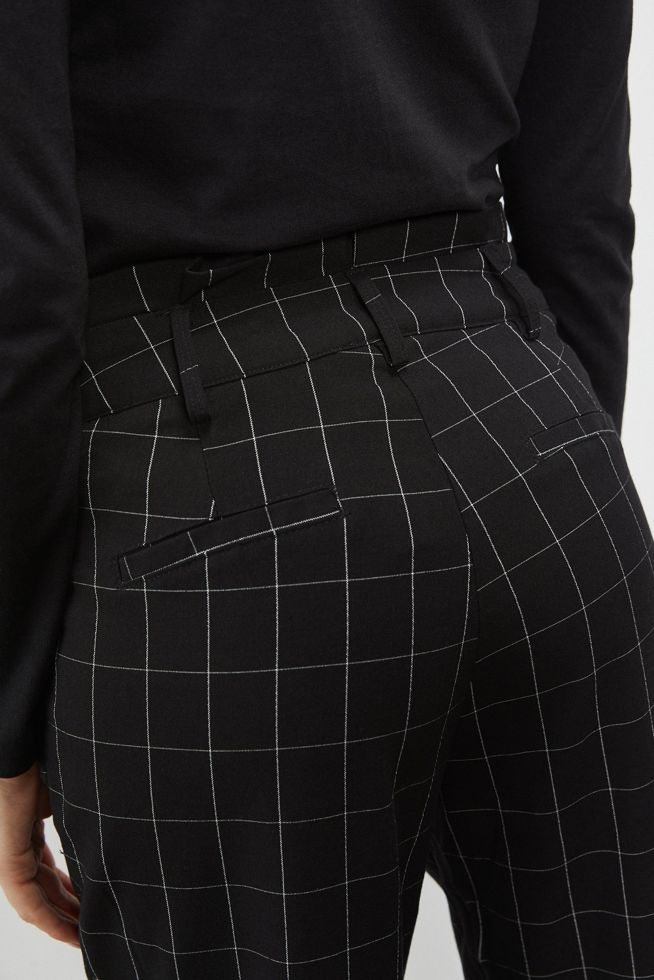 TROUSERS L-SP-3101 BLACK_WHITE