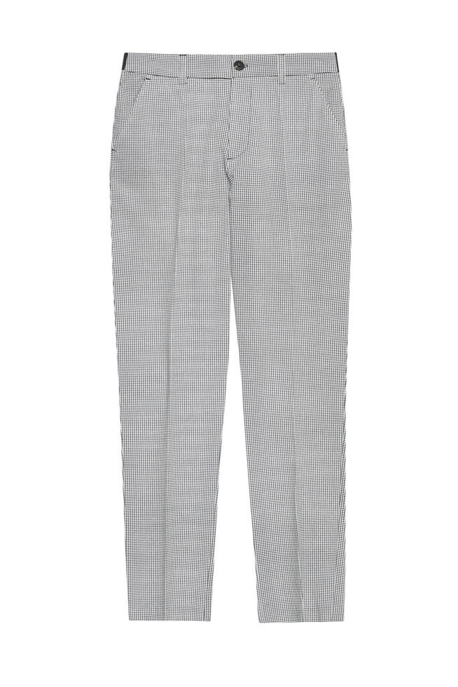 TROUSERS Z-SP-3003 BLACK_WHITE