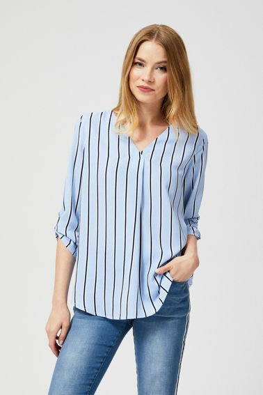 BLOUSE Z-KO-3002 L.BLUE