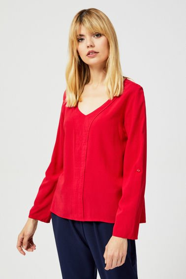 BLOUSE Z-KO-3015 RED