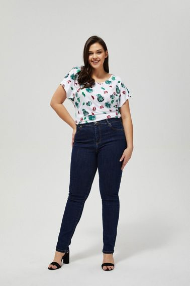 JEANS TROUSERS L-JE-3108 NAVY