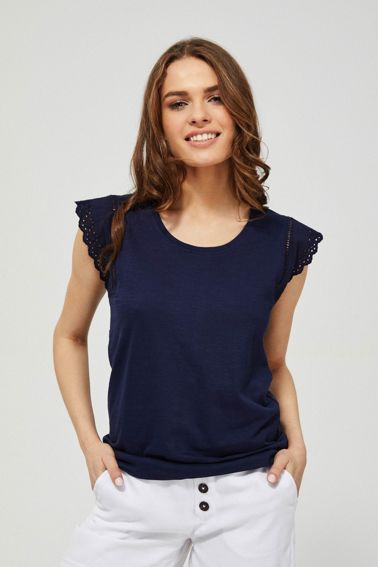 SHIRT L-TS-3181 NAVY-SET