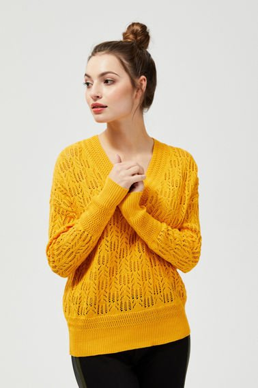SWEATER L-SW-3112 YELLOW