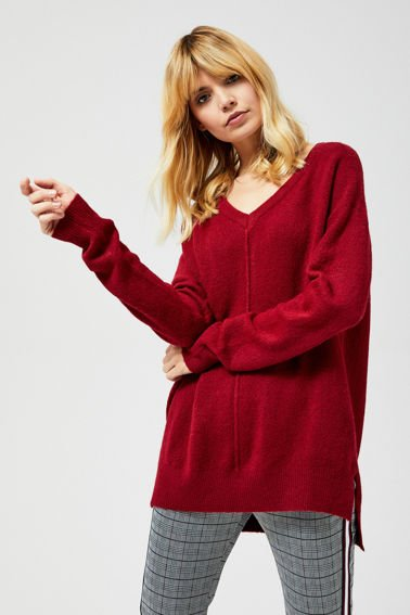 SWEATER Z-SW-3033 WINE