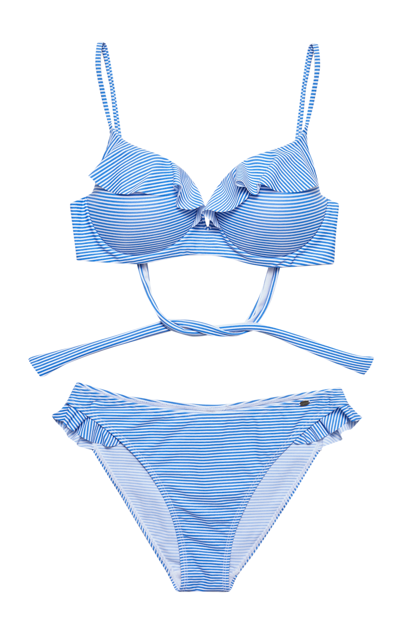 Strój kąpielowy L SB 2801 BLUE PAKIET | Moodo