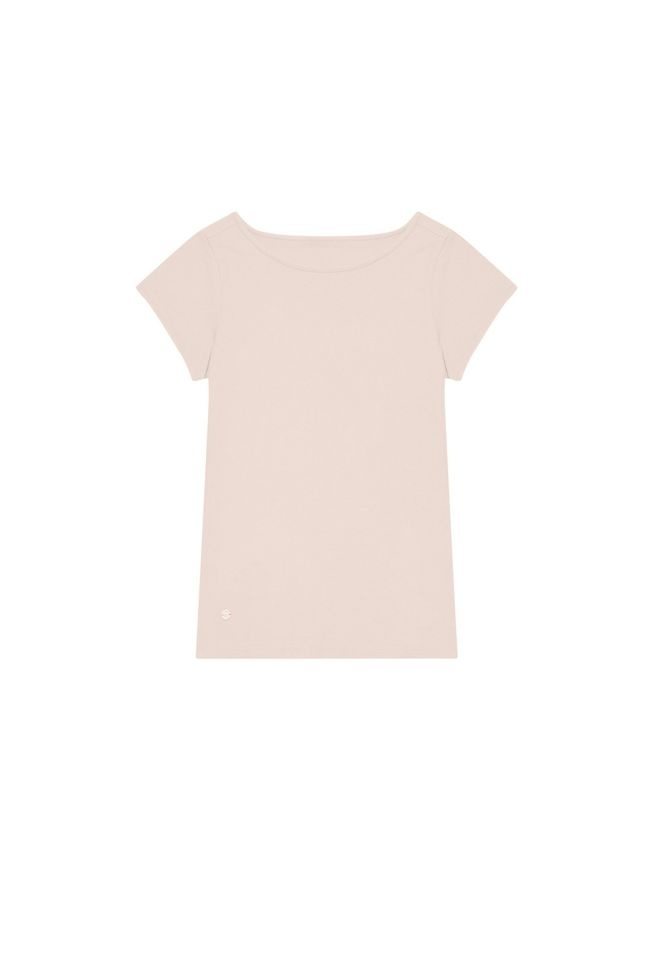T-shirt basic L-TS-3130 L.PINK-PAKIET
