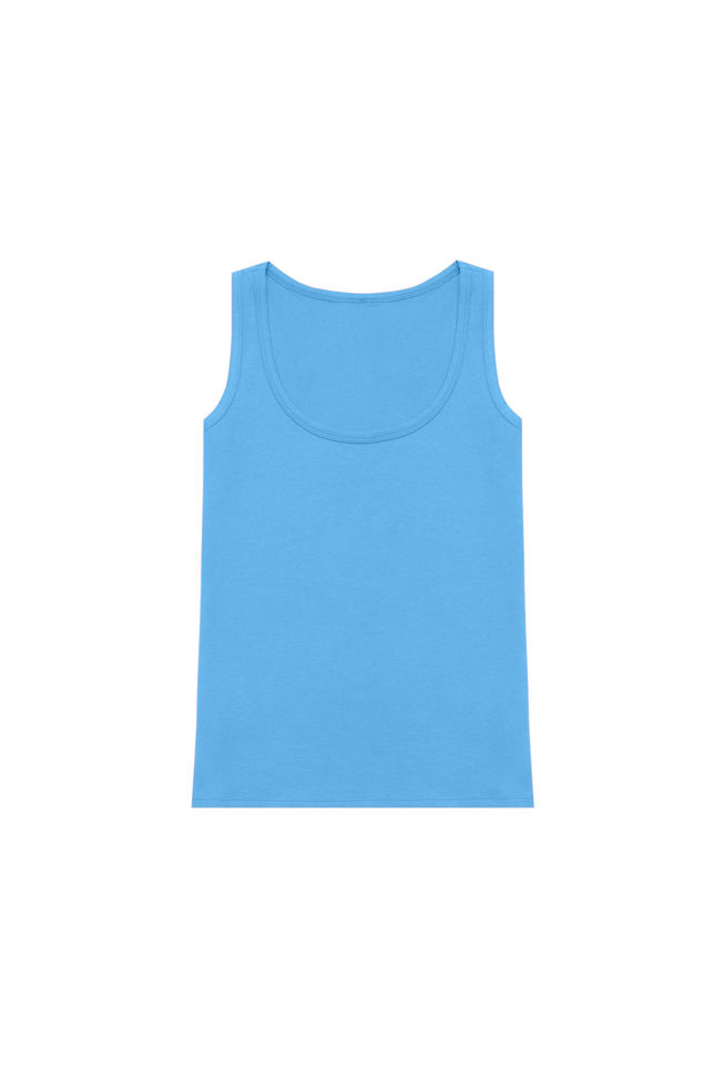 Top basic L-TS-2839 BLUE